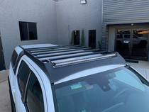 Cali Raised LED Economy Roof Rack For Toyota Tacoma 2005-2020
