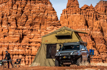 Bundaberg Rooftop Tent - Fits 3 People, Annex Included in Price - by 23Zero USA