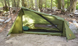 Stash Ground Camping Tent - Lightweight, Fits 1 Person - by 23Zero USA