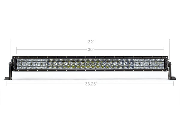 "Cali Raised LED 32"" Dual Row 5D Optic Osram LED Bar"
