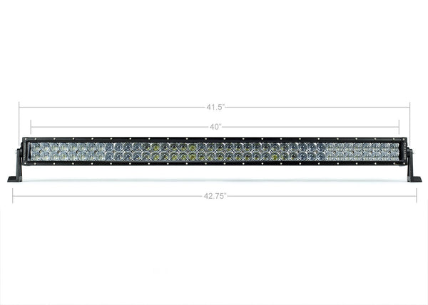 "Cali Raised LED 42"" Dual Row 5D Optic Osram LED Light"