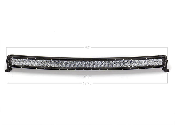 "Cali Raised LED 42"" Curved Dual Row 5D Optic Osram LED Bar"