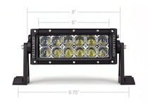 "Cali Raised LED 8"" Dual Row 5D Optic Osram LED Bar"