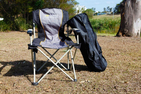 tom camping chair and carrying case