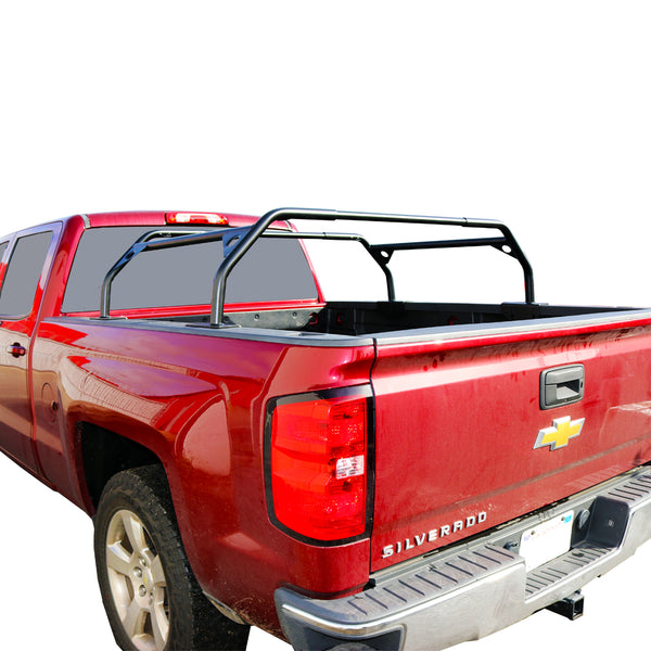powder coated truck bed rack