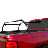 "Tuff Stuff Roof Top Tent Adjustable 40"" Black Powder Coated Truck Bed Rack"
