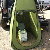 Portable Changing Room & 5 Gallon Portable Toilet