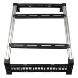 Cali Raised LED Toyota Tacoma Overland Bed Rack 2005-2020 Top View