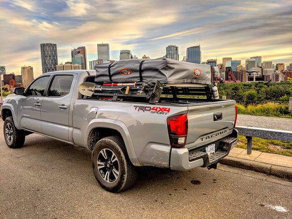 Cali Raised LED Toyota Tacoma Overland Bed Rack 2005-2020