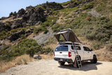 rear view of Dart - 2 Person Hardshell Roof Top Tent - by Eezi-Awn