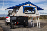 Highway Sport Trailer - Adjustable Height For Racks - by Go FSR with roof top tent