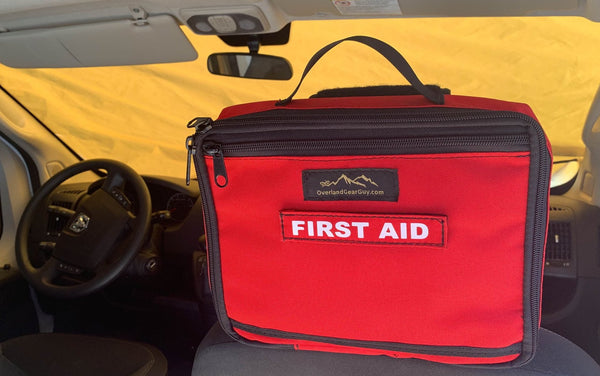 First Aid Kit Headrest Pouch