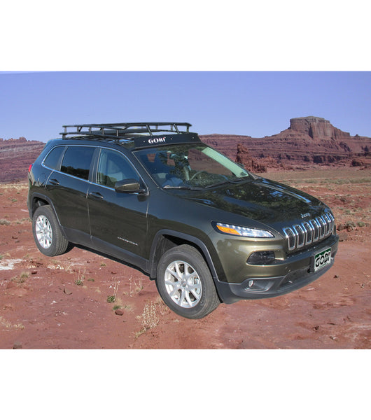 GOBI Ranger Rack for Jeep Cherokee KL w/ Multi-Light Setup & No Sunroof