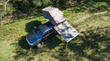 "aerial view of Glenrock 16 Side Awning 62"" x 98"" - by 23Zero USA"