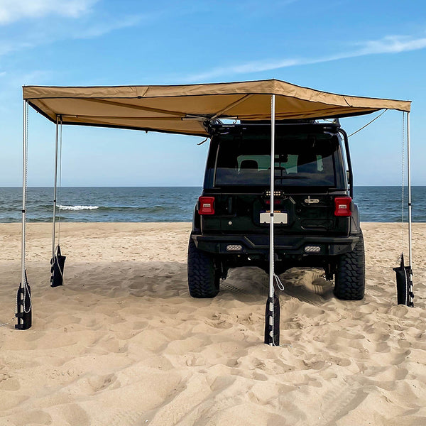 Guana Equipment Morpho 270 Awning Back View