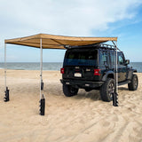 Guana Equipment Morpho 270 Awning Back Side View
