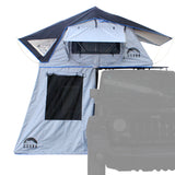 "Guana Equipment Nosara 55"" Roof Top Tent With Annex Front View GE0003"