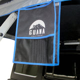 "Guana Equipment Nosara 55"" Roof Top Tent With Annex GE0003 Boot Bag And Black Base"
