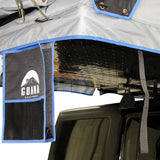 "Guana Equipment Nosara 55"" Roof Top Tent With Annex GE0003 Boot Bag And Base Plate View"