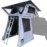 "Guana Equipment Nosara 55"" Roof Top Tent With Annex GE0003 Open Annex View"