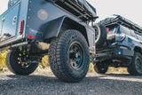 the tires of Overlander Trailer -  Lightweight Off Road Trailer - by Go FSR