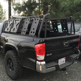 LEITNER DESIGN - ACTIVE CARGO SYSTEM - TOYOTA TACOMA LONG BED 2016+ Back View