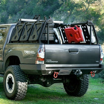 LEITNER DESIGN - ACTIVE CARGO SYSTEM - TOYOTA TACOMA SHORT BED 2005-2015 Back View Gear Boxes
