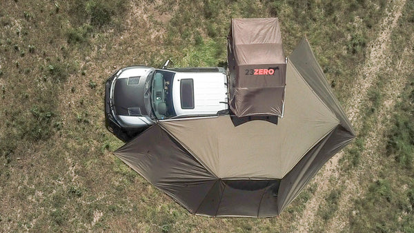 23Zero Peregrine 270 Awning - 2 Sides (Driver's & Passenger's)