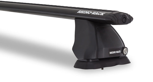 Rhino-Rack Vortex 2500 Ditch Mount 2 Bar Roof Rack Black