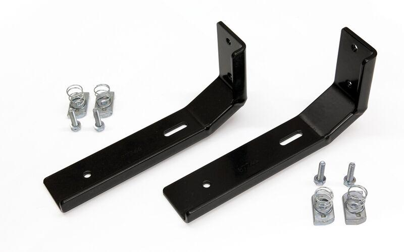 Tjm Pair Of Heavy Duty Mount Brackets For Awning Off