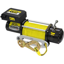 the TJM Torq Winch 9500LB with synthetic rope and wireless motor for sale online at off road tents