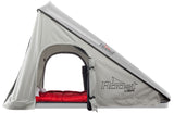 Roost Explorer Hardshell Roof Top Tent gray shell gray fabric