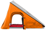 Roost Explorer Hardshell Roof Top Tent gray shell orange fabric