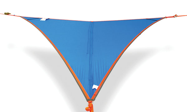 blue color of T-Mini Double Hammock - Lightweight - Fits 2 People - by Tentsile