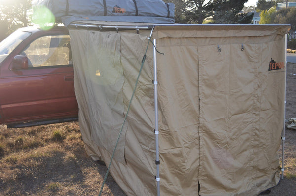 Tepui Tent's 6 ft Awning Walls View