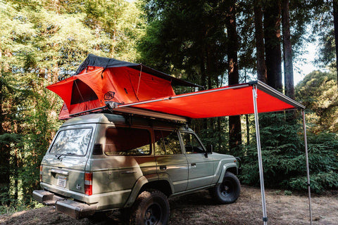 Tepui Expedition Orange Awning