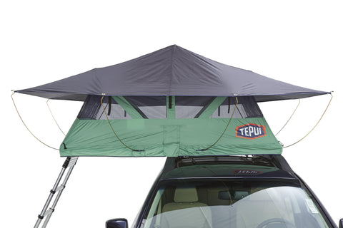 Tepui Roof Top Tent Baja Series Ayer Mesh Green Front View