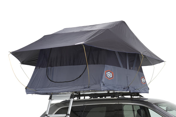 Tepui Roof Top Tent Baja Series Kukenam Mesh Gray Side View