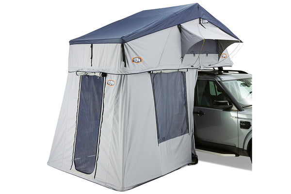 Tepui Autana Ruggedized 4 Person (XL) Roof Top Tent Gray Hero With Annex