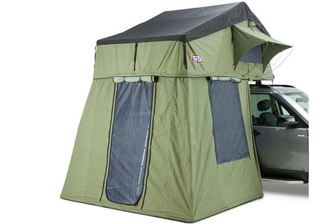 Tepui Autana Ruggedized 4 Person (XL) Roof Top Tent Green Hero
