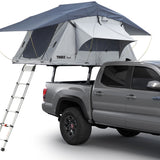 Thule Xsporter Pro Mid PickUp Truck Bed Rack With Roof Top Tent On Top