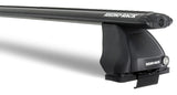 Rhino-Rack Vortex 2500 Bar Roof Rack for 2 dr Toyota Tacoma black