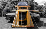 Wanaka Roof Top Tent With XL Annex By Guana Equipment  Side View