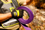 purple winch extension strap by tom with reinforced eyes