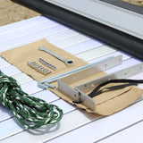 mounting hardware for 4.5' x 6' Rooftop Side Awning - by Tuff Stuff
