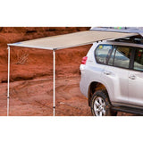 Front view of TJM Awning for Roof Top Tent