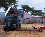 Skycamp Roof Top Tent - 3-4 Person Capacity - by iKamper with awning