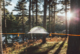 UNA Single Person Tree Tent - Lightest Tent Available - Ideal For Hikers - by Tentsile