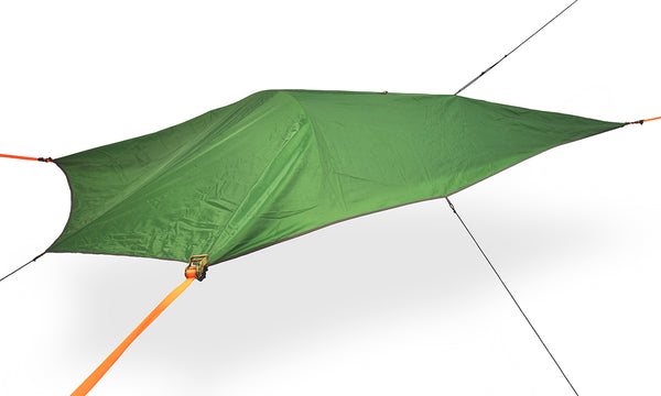 forest green color UNA Single Person Tree Tent - Lightest Tent Available - Ideal For Hikers - by Tentsile