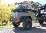rear view of Overlander Trailer -  Lightweight Off Road Trailer - by Go FSR
